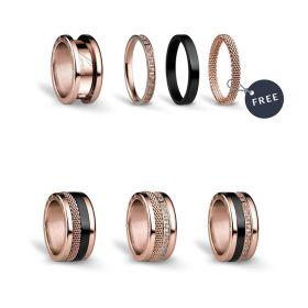 Bering női gyűrű szett ARCTICNIGHTS-8