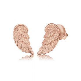 Engelsrufer női fülbevaló szárny rosé EREWINGSTR