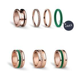 Bering női gyűrű szett GREENLIGHTS-7