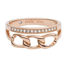Fossil női gyűrű 56-os JF03351791508