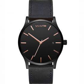 MVMT Classic black rose leather férfi karóra MM01-BBRGL