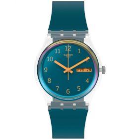 Swatch Originals Blue Away unisex karóra GE721