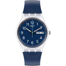 Swatch Originals Rinse Repeat Navy unisex karóra GE725