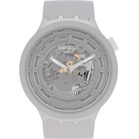 Swatch Big Bold C-Gray unisex karóra SB03M100
