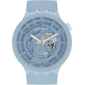 Swatch Big Bold C-Blue unisex karóra SB03N100