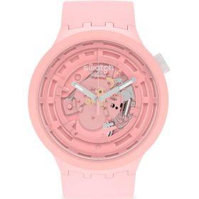 Swatch Big Bold C-Pink unisex karóra SB03P100