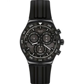 Swatch Essentials Teckno Black férfi karóra YVB409