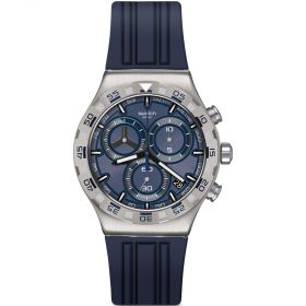 Swatch Essentials Teckno Blue férfi karóra YVS473
