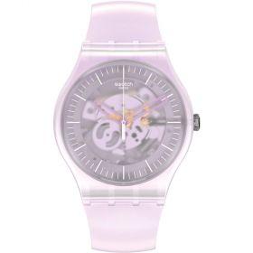 Swatch Pink Mist unisex karóra SUOK155