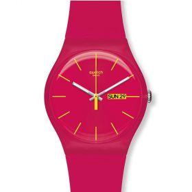 Swatch Rubine Rebel unisex karóra SUOR704