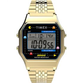Timex T80 Pac-Man unisex karóra TW2U32000