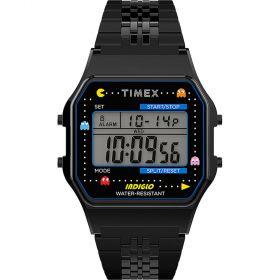 Timex T80 Pac-Man unisex karóra TW2U32100