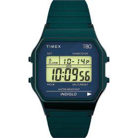 Timex T80 unisex karóra TW2U93800