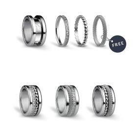 Bering női gyűrű szett SILVERLIGHTS-9