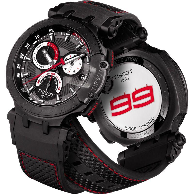 Tissot T-Race MotoGP Jorge Lorenzo Limited Edition férfi karóra T115. 417.37.061.01 019eff9238