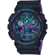 Casio G-Shock férfi karóra GA-100BL-1AER